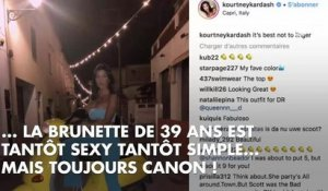 PHOTOS. Kourtney Kardashian, canon pendant ses vacances en Italie