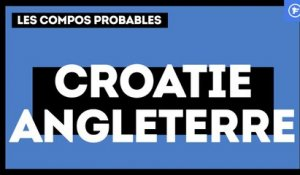 Croatie-Angleterre : les compos probables