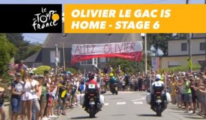 Olivier Le Gac est à la maison / is home - Étape 6 / Stage 6 - Tour de France 2018