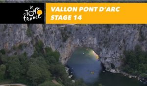 Vallon Pont d'Arc - Étape 14 / Stage 14 - Tour de France 2018