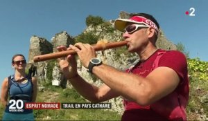 Esprit nomade : trail en Pays cathare