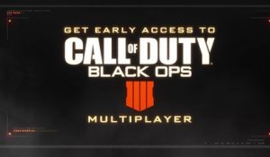 Trailer - Call of Duty: Black Ops 4 - Gameplay Battle Royale et Multijoueur (bêta)