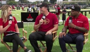 Lynch explains why 49ers have an obstacle course at camp