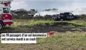 Mexique : 99 passagers survivent miraculeusement à un crash d'avion