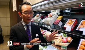 Japon : des fruits à prix d'or