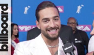 Maluma Talks Working With Shakira, Wanting to Collaborate With Shawn Mendes  | MTV VMAs 2018