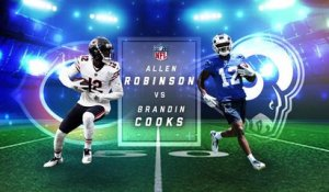 Better fantasy option: Allen Robinson or Brandin Cooks?