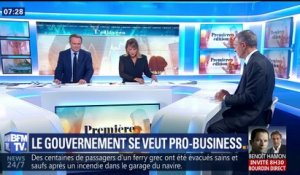 Le gouvernement se veut pro-business