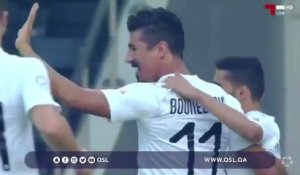 But de Bounedjah face à Al Shahaniya