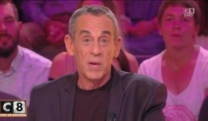 VIDEO la belle déclaration de Thierry Ardisson à sa femme Audrey Crespo-Mara en direct sur C8