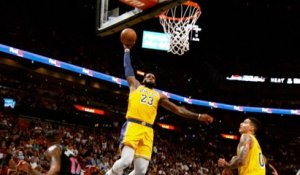 LeBron James Explodes for 51 Points in Miami