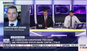 Le point macro: Vers des sanctions contre l'Italie - 22/11