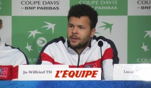 Tsonga «Le sentiment d'avoir ma place» - Tennis - Coupe Davis