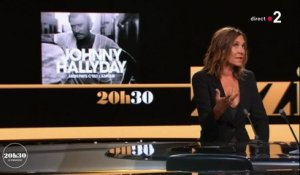Zazie curieuse d'entendre le nouvel album posthume de Johnny Hallyday