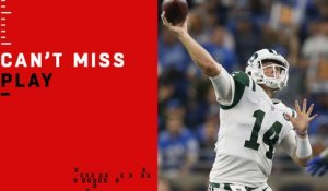 Can't-Miss Play: Darnold goes DEEP for first NFL TD pass