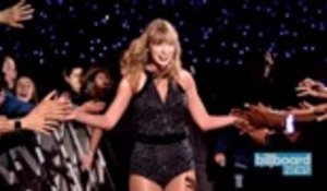 Taylor Swift Breaks Record, Hangs Out With Kelsea Ballerini at Indianapolis Show | Billboard News