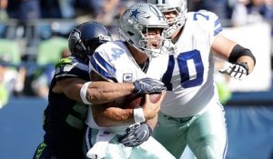 Mychal Kendricks wraps up Dak for third-down sack