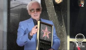 U.-S. News - Charles Aznavour à Hollywood