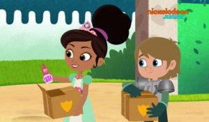 Nella Princesse Chevalier | Un colis de collection | NICKELODEON JUNIOR