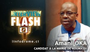 Interview Flash : Le colonel Amani Oka, candidat à la Mairie de Koumassi