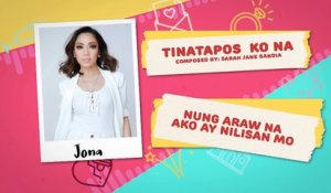 Tinatapos Ko Na - Jona | Himig Handog 2018 (Official Lyric Video)