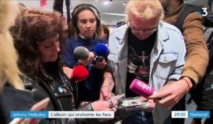 Johnny Hallyday : l'album qui enchante les fans