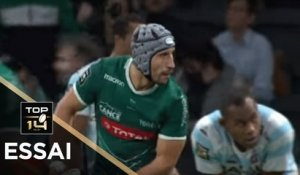 TOP 14 - Essai Florian NICOT (SP) - Racing 92 - Pau- J8 - Saison 2018/2019