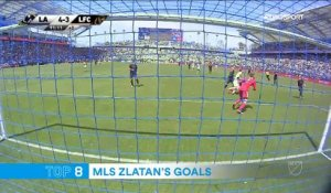 High-kick ou inspirations géniales : le Top 10 des buts de Zlatan en MLS