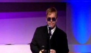 Elton John slags off Madonna at the Q Awards