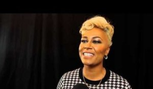 Emeli Sandé speaks after winning Best Solo Artist at the 2012 Q Awards