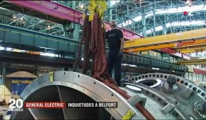 General Electric : inquiétude à l'usine de Belfort