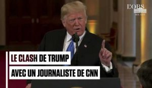 Le violent clash de Trump avec un journaliste de CNN