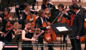 Concours Long-Thibaud-Crespin 2018, finale Concerto : Louisa Staples