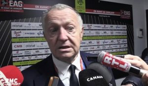 "Ligue 1 – Aulas : ""Depay a fait un très grand match"""