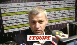 Genesio « Un grand match de Depay» - Foot - L1 - OL