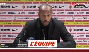 Henry «On ne va pas chercher d'excuses» - Foot - L1 - Monaco