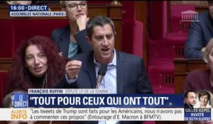 "Carburants: François Ruffin interpelle le gouvernement. ""Rendez l'ISF d'abord !"""