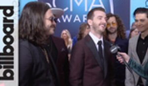 LANCO Talk Wanting to Collaborate With Ed Sheeran, Taylor Swift & Khalid at 2018 CMA Awards | Billboard