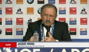 "XV de France - Brunel : ""On a plein de choses à améliorer"""