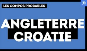 Angleterre - Croatie : les compositions probables