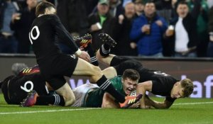 L'incroyable essai de Jacob Stockdale face aux All Blacks