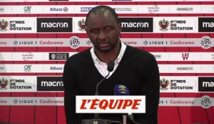 Vieira «On a franchi un pallier» - Foot - L1 - OGCN