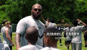 Jurrell Casey: Walter Payton Man of the Year nominee