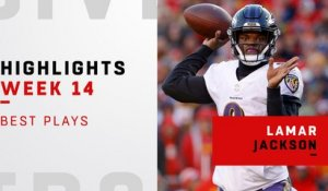 Lamar Jackson's best plays vs. the Chiefs | Week 14