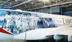 Un A 380 aux couleurs du Real Madrid