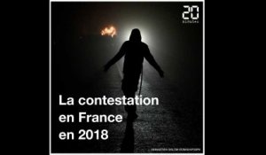 Rétro 2018: La contestation en France