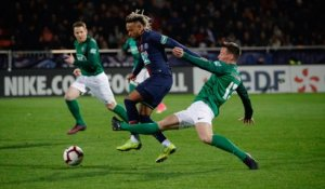 Pontivy - Paris Saint-Germain : Le geste technique de Neymar Jr