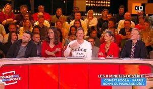 Cyril Hanouna lance un message à JoeyStarr en direct dans TPMP - Regardez