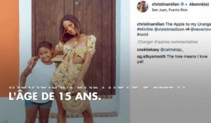 PHOTOS. Christina Milian : sa fille est son portrait craché !