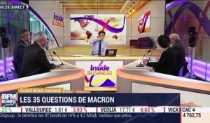 Les insiders (1/3): Grand débat national: les 35 question d'Emmanuel Macron - 14/01